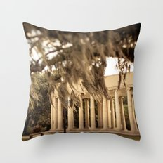The Peristyle - New Orleans Throw Pillow