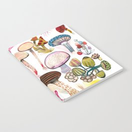 Mushroom Collection - b r i g h t s Notebook