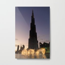The Tallest Building Metal Print