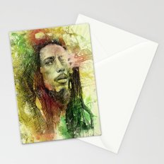 Reggae Rebel (Marley) Stationery Cards