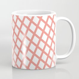 Lattice | Salmon Coffee Mug