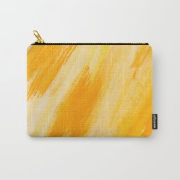 Yellow Orange Painting Pattern Carry-All Pouch
