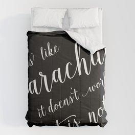 Parachute quote Comforters
