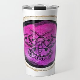 Moth Wood Design Travel Mug