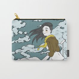 Girl in the Clouds Carry-All Pouch