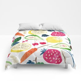 Veggie Heaven #society6 #society6artprint #buyart Comforters