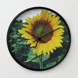 She's a Sunflower, She's my One Flower Wall Clock