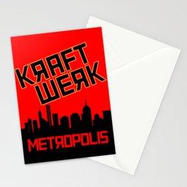 Kraftwerk - Metropolis Stationery Cards