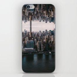 New York City Upside Down iPhone Skin