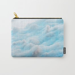 Blue Snow Carry-All Pouch