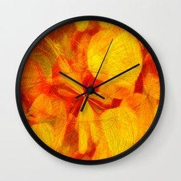Circles Of Light  Wall Clock