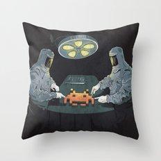 Alien Autopsy Throw Pillow