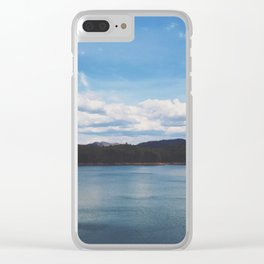 Looking Out To Fontana Dam • Appalachian Trail Clear iPhone Case