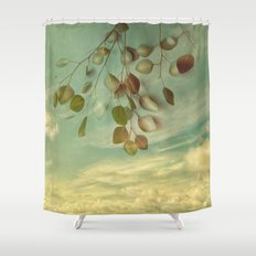 an impression of control Shower Curtain
