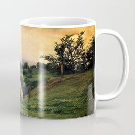 Farmland in Cumbria Coffee Mug