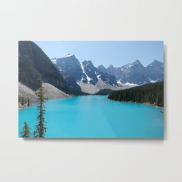 Moraine Lake, Banff Canada Metal Print