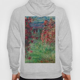 "Claude Monet ""House among the Roses"", 1925 Hoody"
