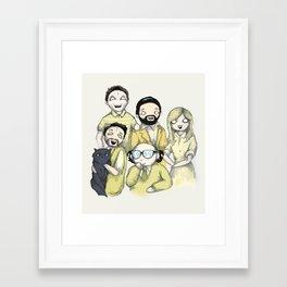 It's Always Plushie In Philadelphia Framed Art Print