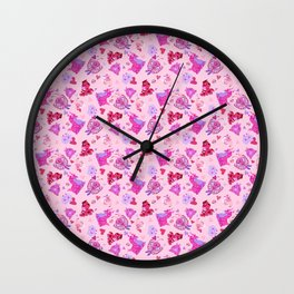 Love Bugs Wall Clock