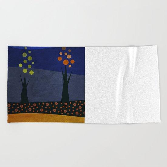 Color/Landscape 1 Beach Towel