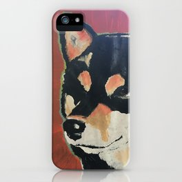 Kuma the Shiba iPhone Case