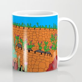 The Cactus Garden, Lanzarote, Canary Islands, Spain Coffee Mug