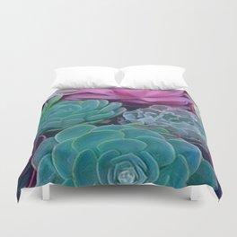 Succulents 2 Duvet Cover