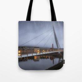 Swansea Sail Bridge and Marina Tote Bag