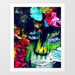 Two Tickets to Paradise Art Print