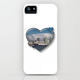 I Love San Diego iPhone Case