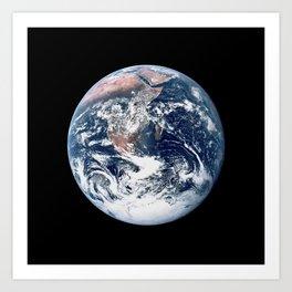 Apollo 17 - Iconic Blue Marble Photograph Art Print