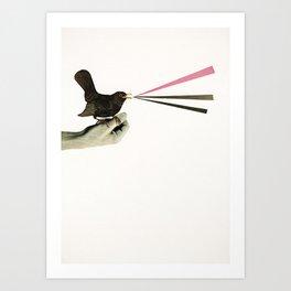 Bird in the Hand Art Print