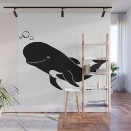 Short-finned pilot whale Wall Mural