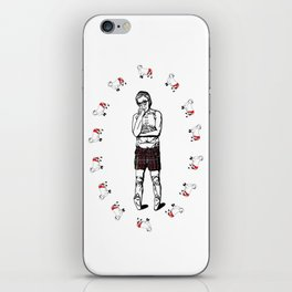 Woody Allen- great expectations iPhone Skin