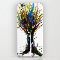 creativity iPhone & iPod Skins featuring Creativity by Tobe Fonseca