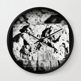 Hidden Abstra Wall Clock
