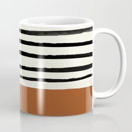 Burnt Orange x Stripes Coffee Mug