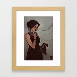 The Narcissist Framed Art Print