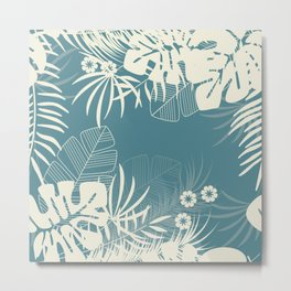 Tropical pattern 047 Metal Print