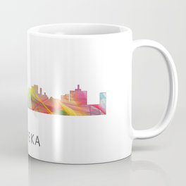 Topeka, Kansas Skyline WB1 Coffee Mug