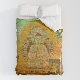 Floating Buddha Comforters