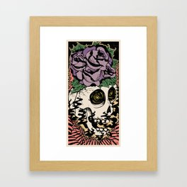 Bad Acid Framed Art Print