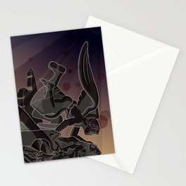 extasy of saint terasa Stationery Cards