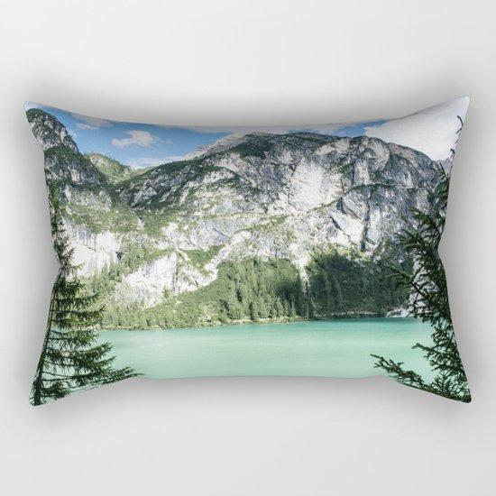 Hanging hope Rectangular Pillow