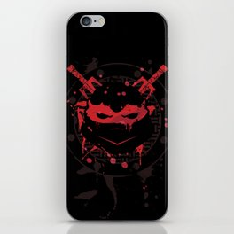 Raphael Turtle iPhone Skin