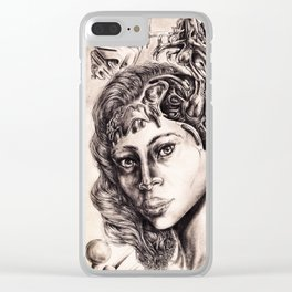Cerebral-Womb Clear iPhone Case
