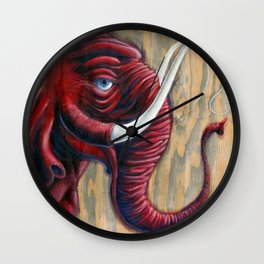 The First Arrival Wall Clock