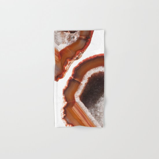 Flame Agate Hand & Bath Towel