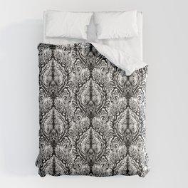 Fractal Damask Comforters