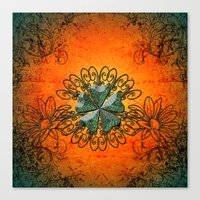 decorative Canvas Prints featuring Decorative design by nicky2342